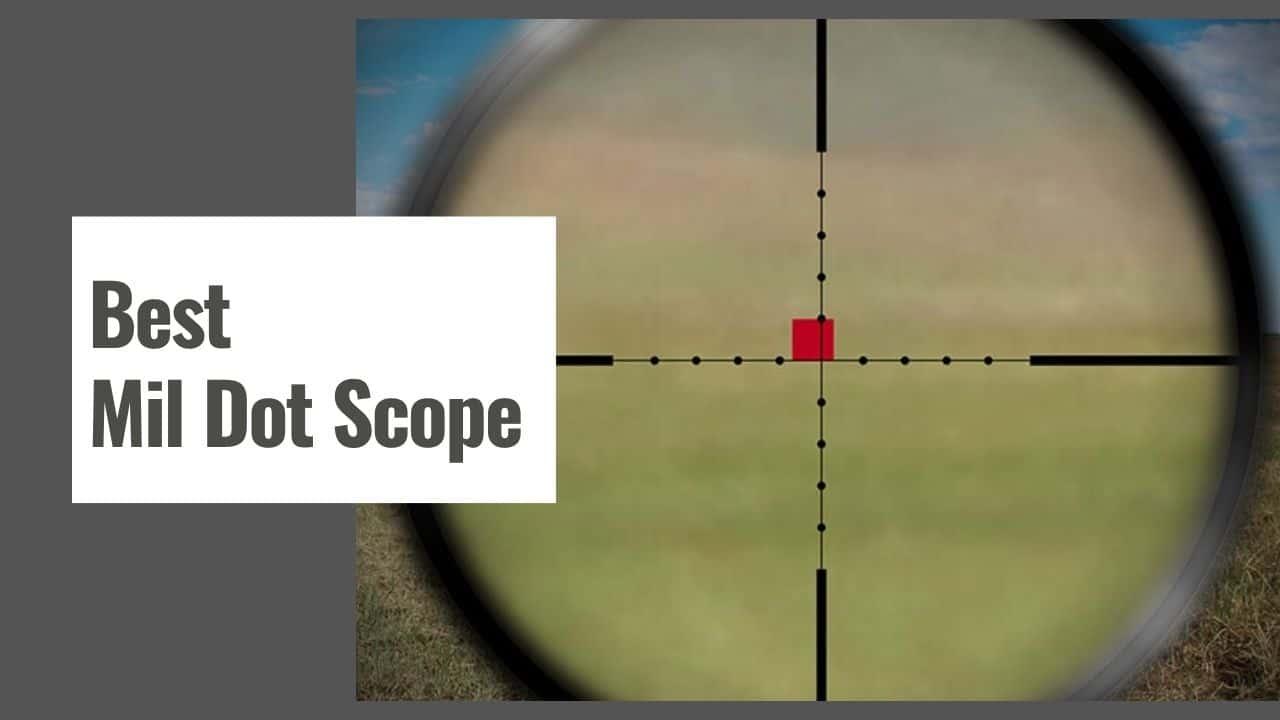 The 10 Best Mil Dot Scope in 2021
