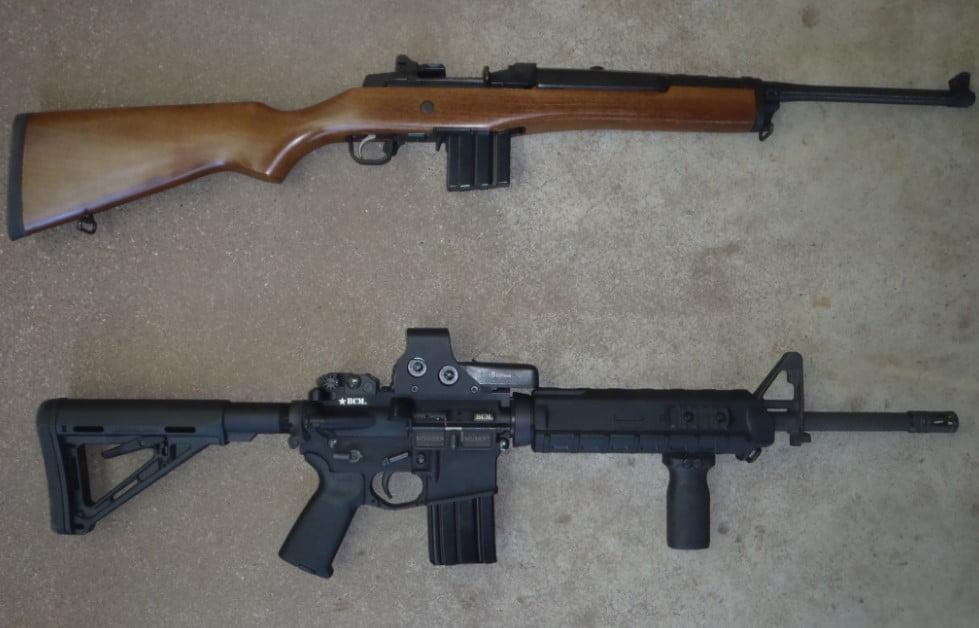 AR-15 VS Hunting Rifle