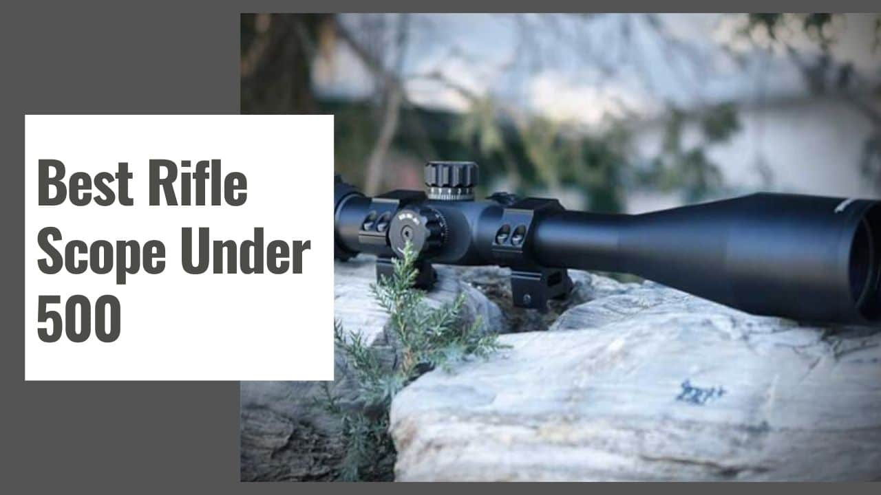 The 10 Best Rifle Scope Under 500 in 2021
