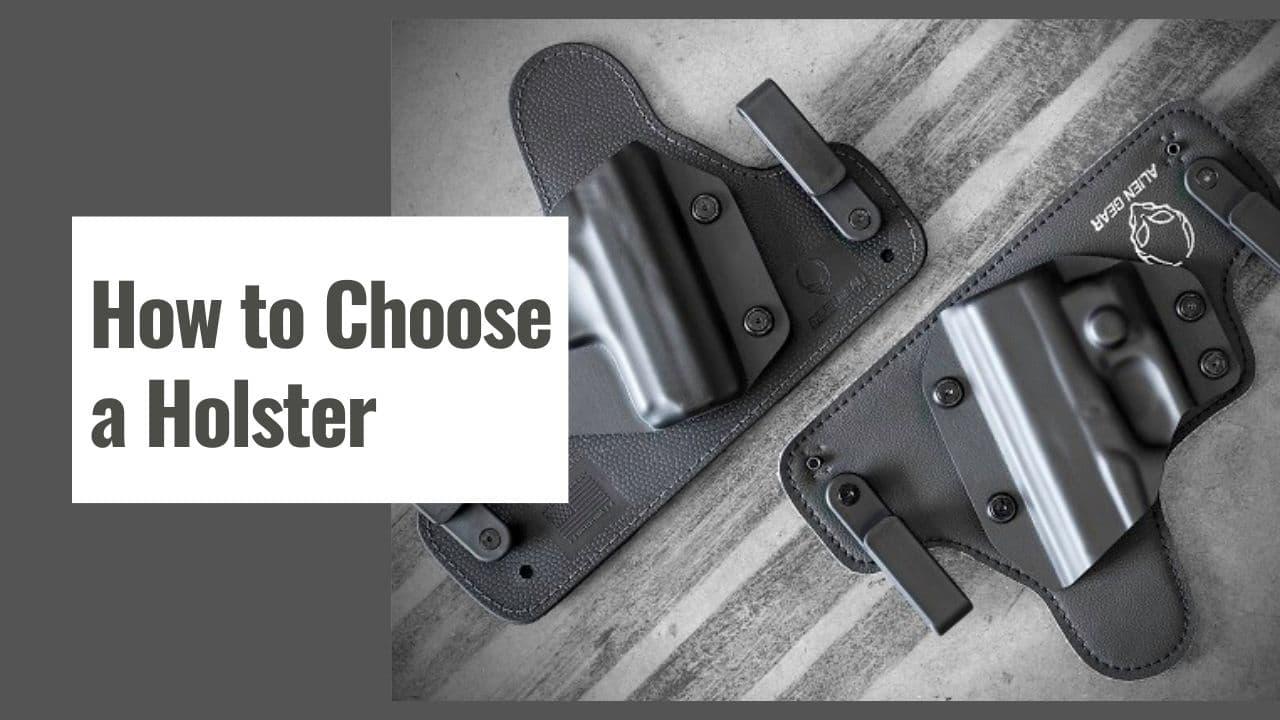 How to Choose a Holster for Hidden Gun Carrying