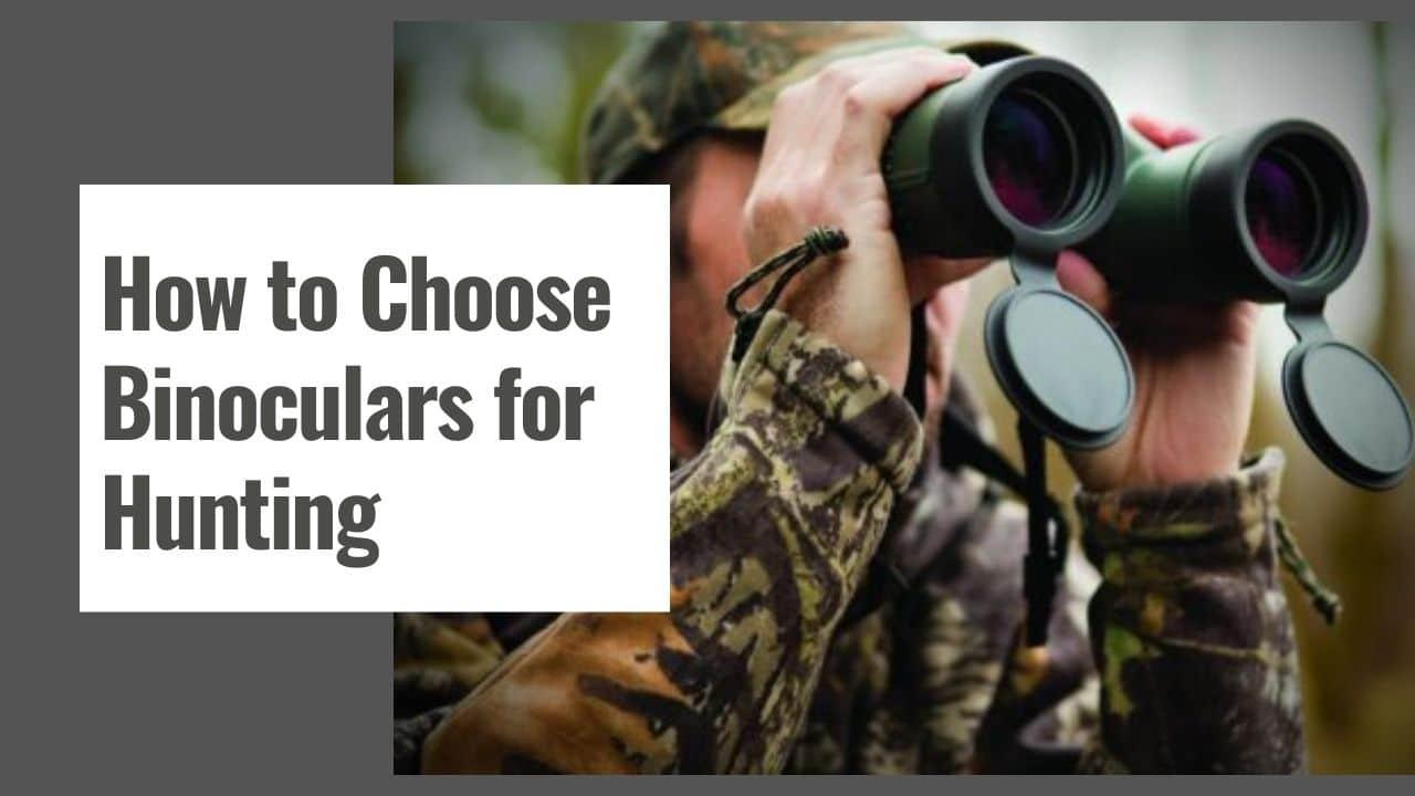 How to Choose Binoculars for Hunting