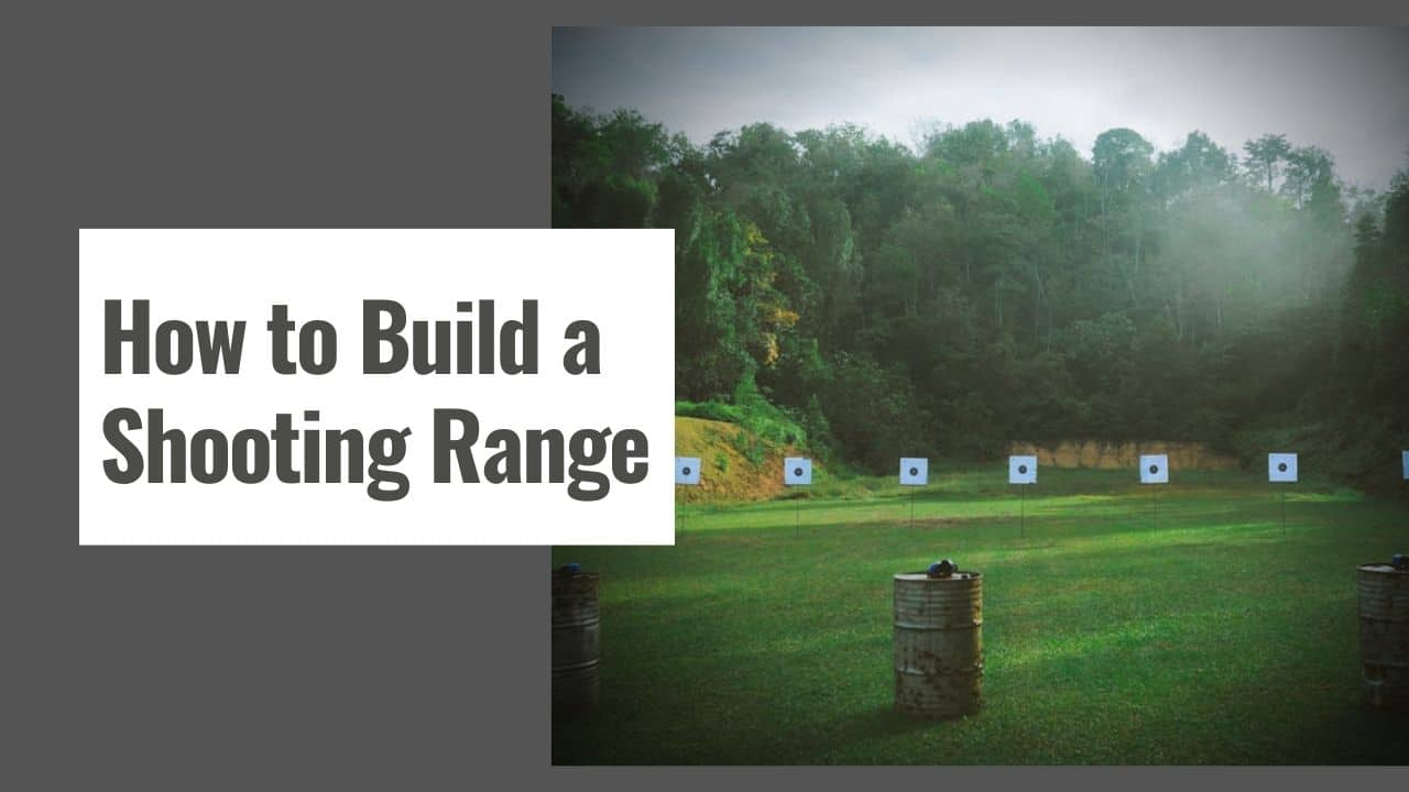 How to Build a Shooting Range – Indoor Shooting Range at Home